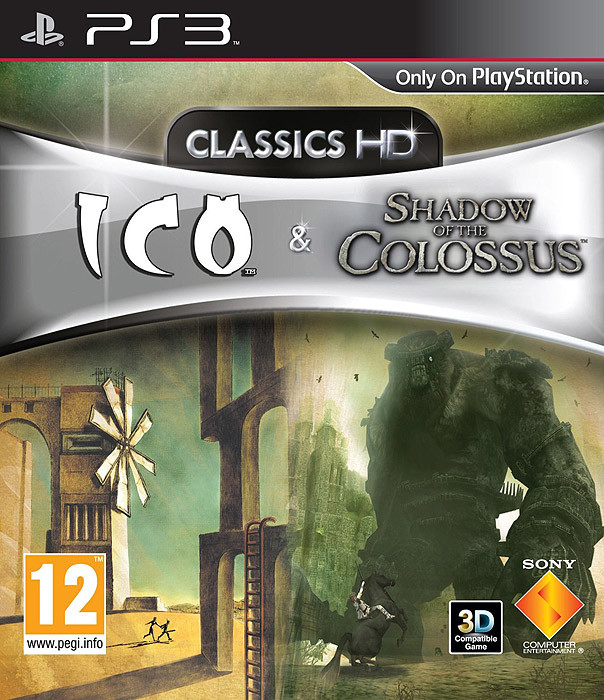 PS3 ICO and Shadow of the Colossus Collection-