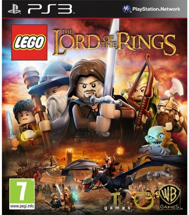 PS3 Lego Lord of the Rings