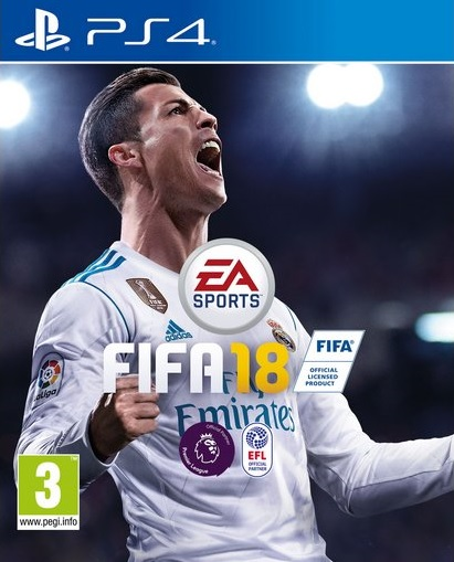 PS4 FIFA 18 CZ