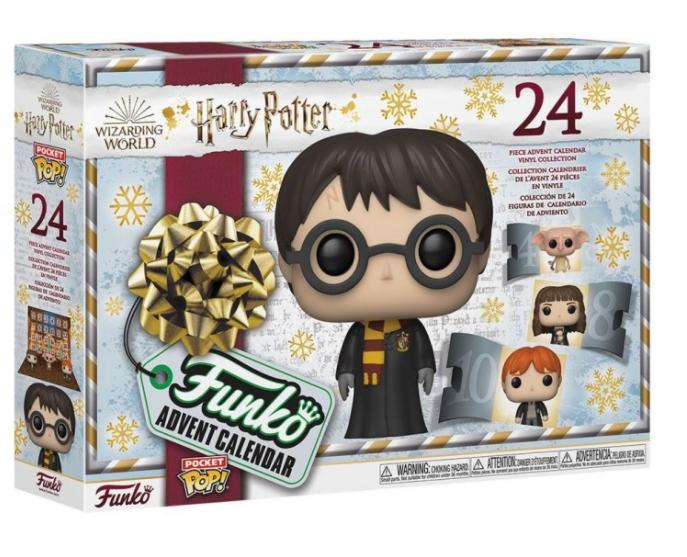 Merch Adventní kalendář Funko Harry Potter 2021 Nové