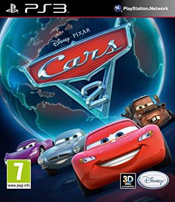 PS3 Disney Cars 2-
