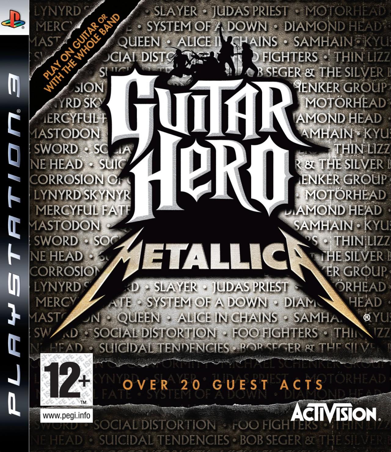 PS3 Guitar Hero Metallica-