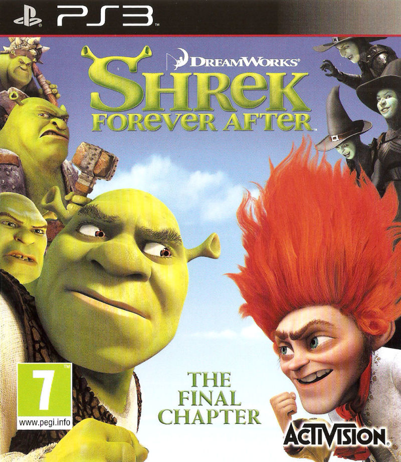 PS3 Shrek Forever After
