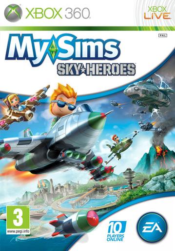 X360 MySims Sky Heroes