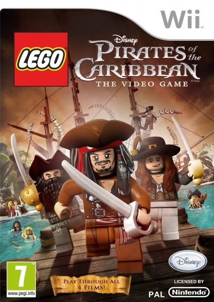 Wii Lego Pirates of The Caribbean The Video Game