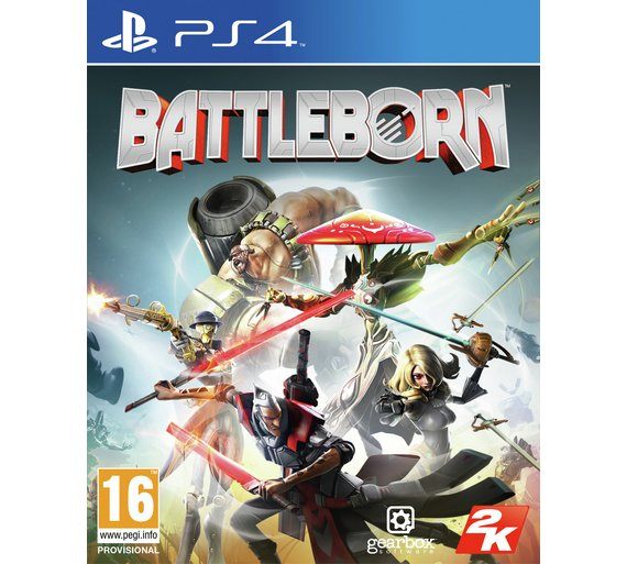 PS4 Battleborn Nové