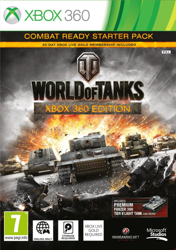 X360 World of Tanks Combat Ready