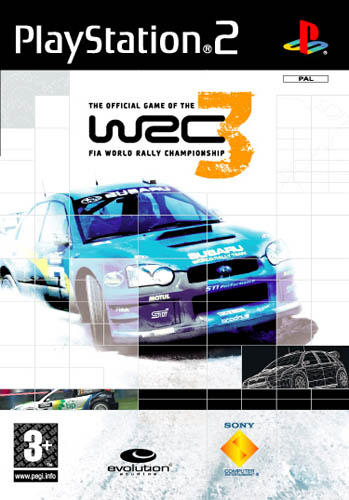 PS2 WRC 3 FIA World Rally Championship