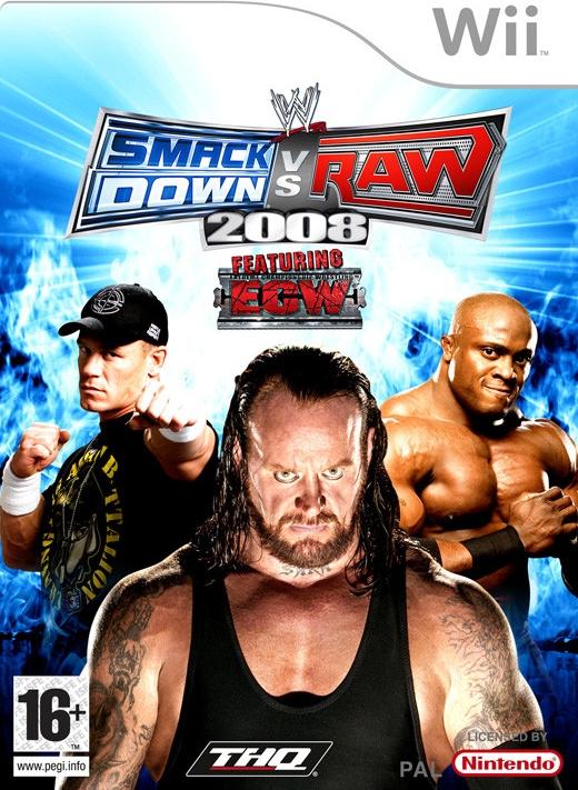 Wii WWE SmackDown vs RAW 2008