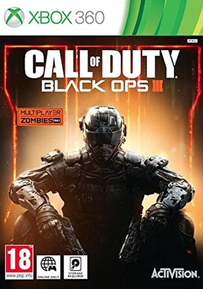 X360 Call of Duty Black Ops 3 Nové