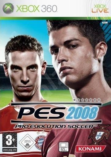 X360 Pro Evolution Soccer 2008 N