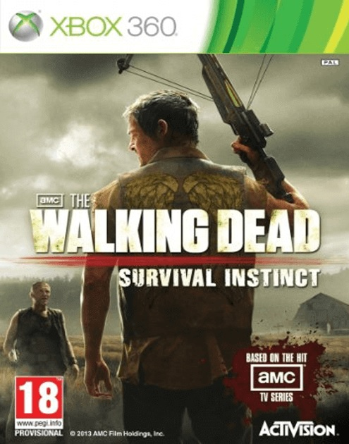 X360 The Walking Dead Survival Instinct