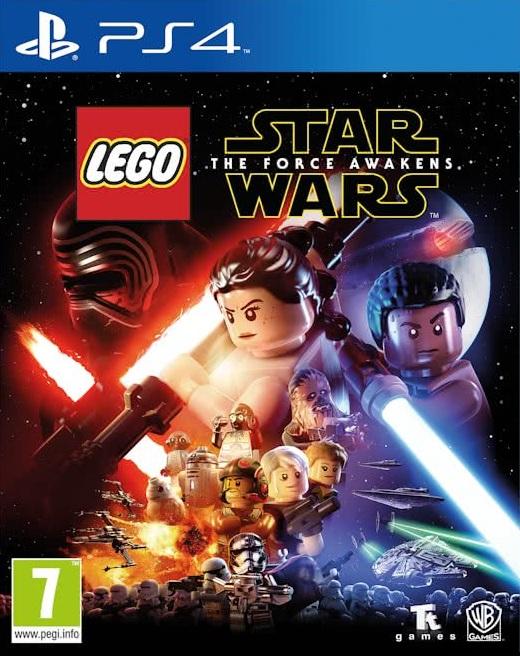 PS4 Lego Star Wars The Force Awakens - jen hra