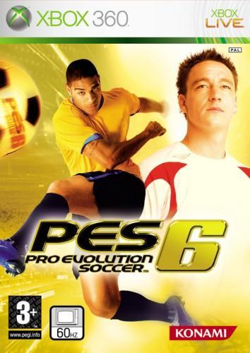 X360 Pro Evolution Soccer 6 - jen hra