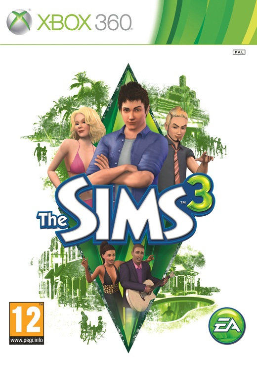 X360 The Sims 3