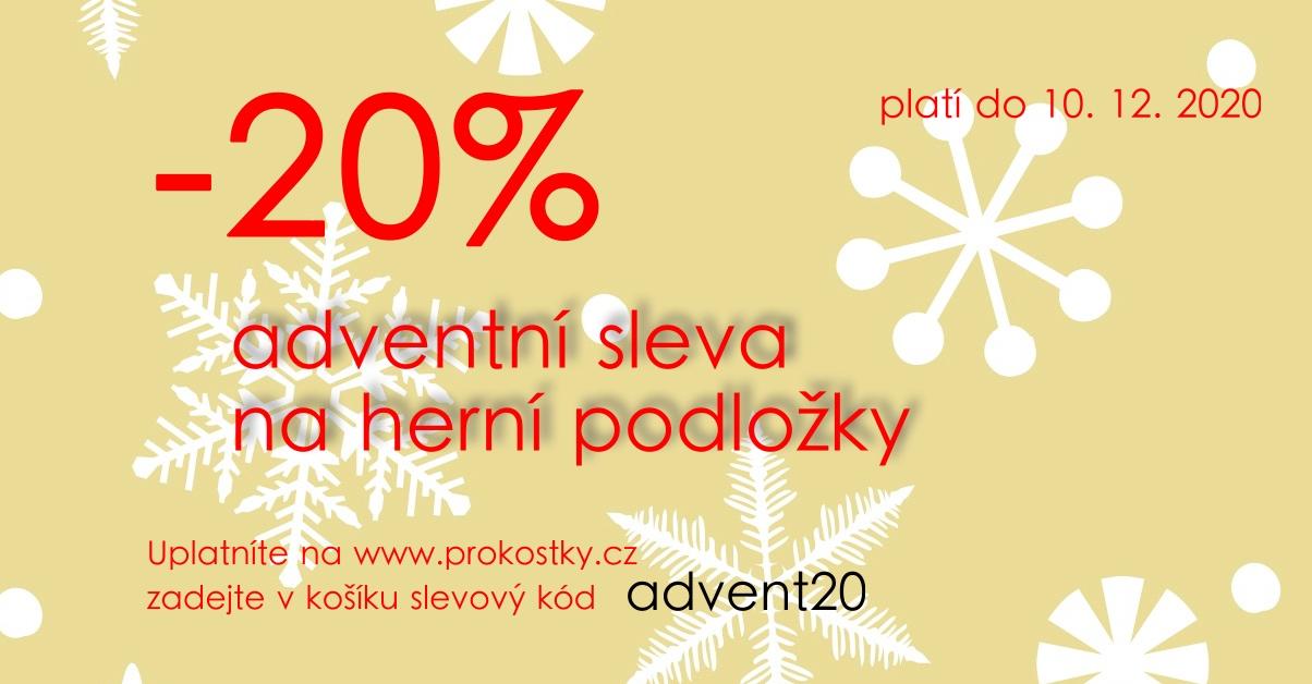 Adventní sleva 20%