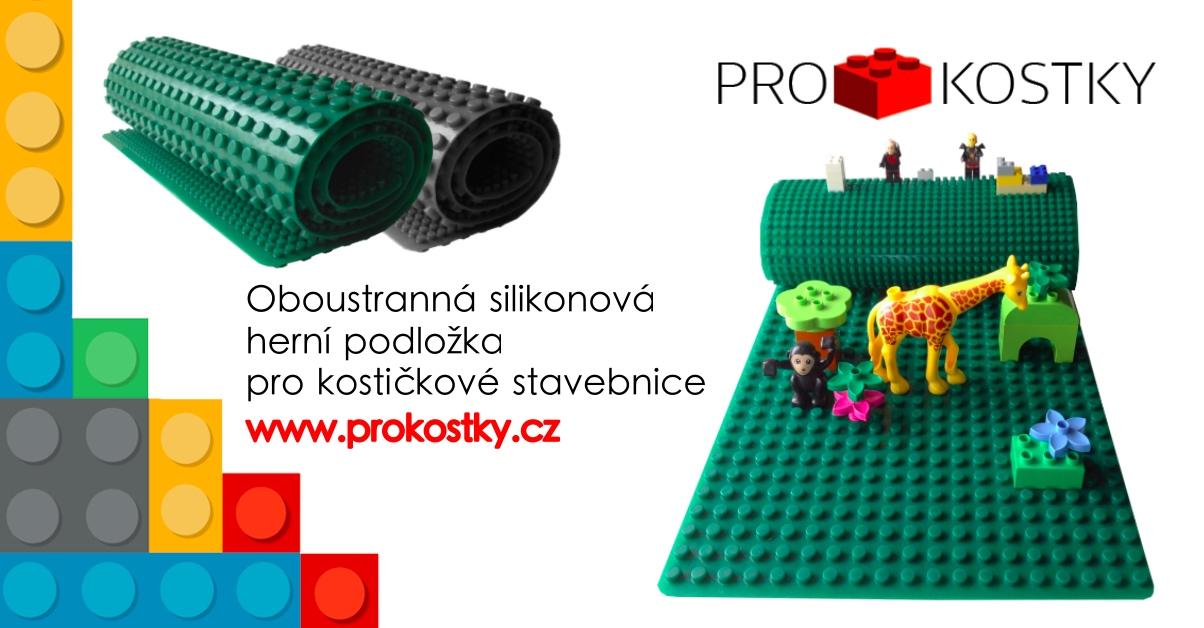 Oboustranná silikonová herní podložka ProKostky