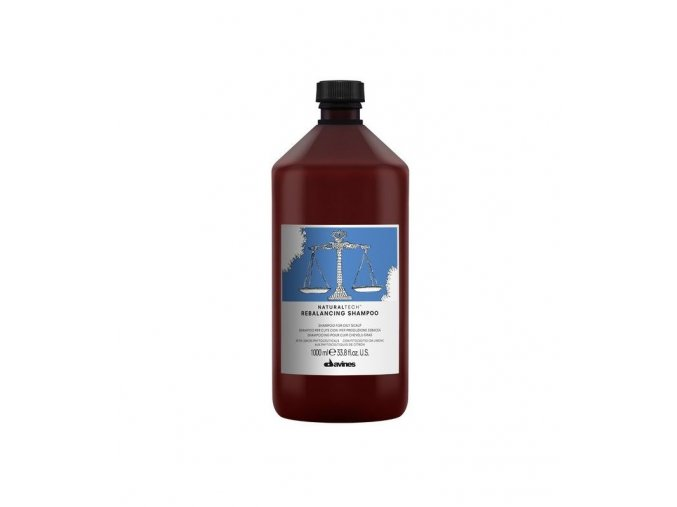 118 davines naturaltech rebalancing shampoo 1000ml