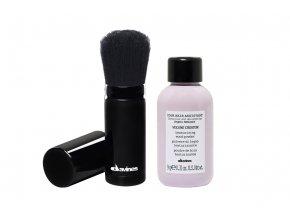 Set Your Hair Assistant Objemový prášek 9 g + štěteček