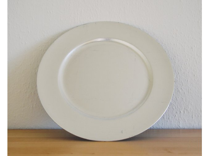 talíř stříbrný