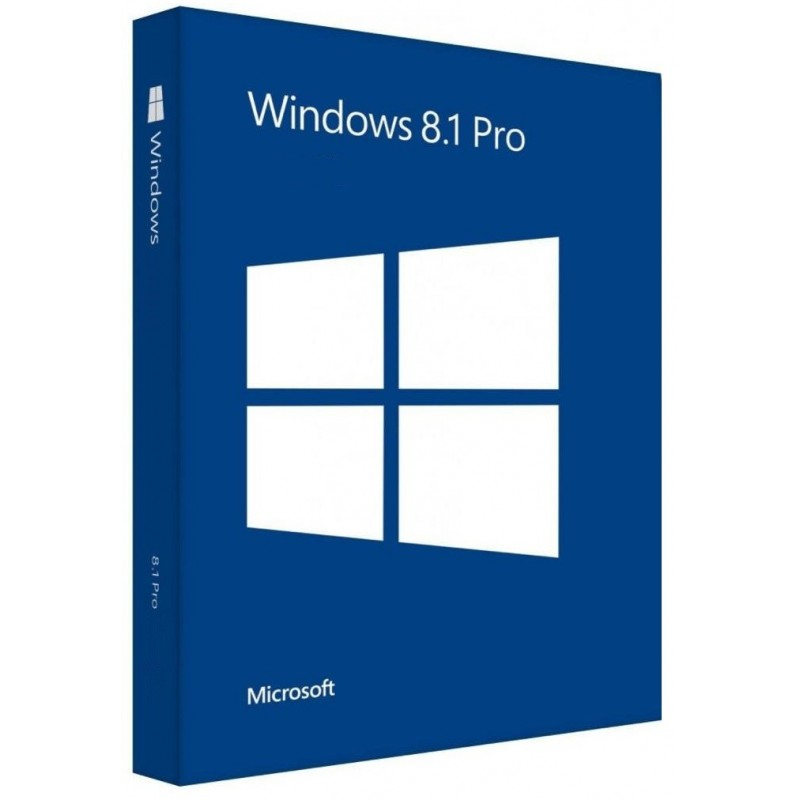 Microsoft Windows 8.1 Pro 64-Bit CZ GGK (4YR-00178)