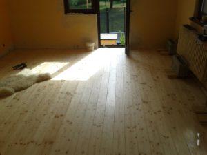 Projekt: Výměna podlahy v obýváku