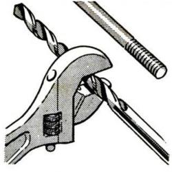 Stavěcí klíč jako jednoduché měřidlo