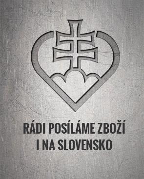 Zasíláme zboží i na Slovensko.