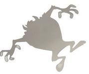 3D logo METAL samolepící