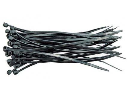 Černé stahovací pásky