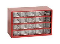 Organizéry a skříňky na drobné součástky