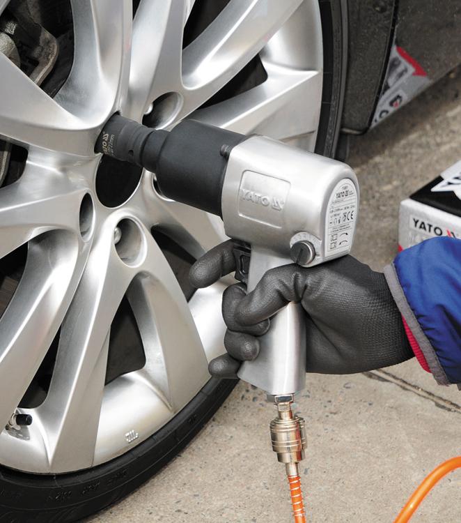 pneumatické rázové utahováky jsou skvělou volbou pro pneuservisy