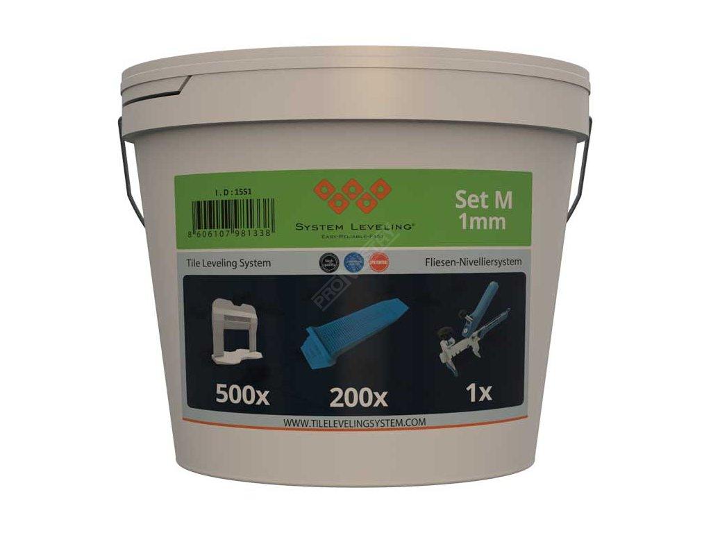 Aplikační SET 500/200/1 - 1 mm System Leveling D.O.O. SL1551