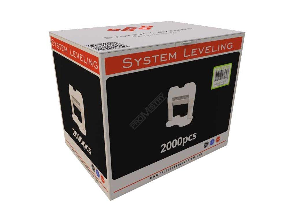 Spony 1,5mm (2000ks) System Leveling D.O.O. SL1135