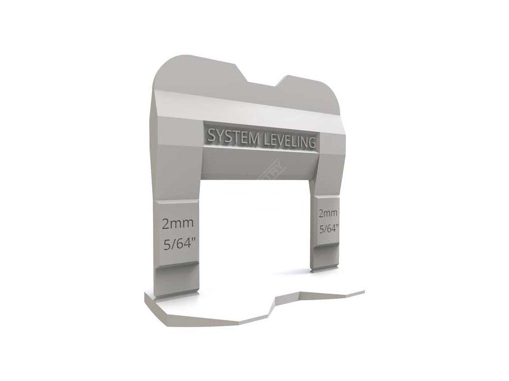 System Leveling - spony 2mm (2000ks)
