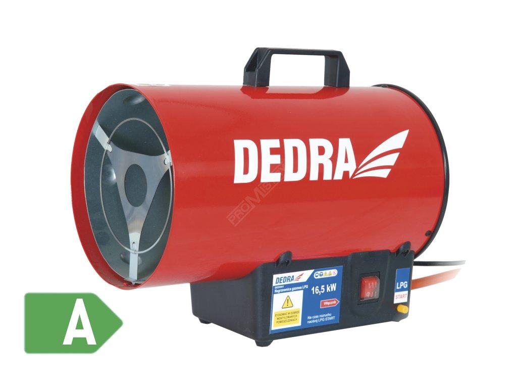 Plynové topidlo na propan butan 16,5 kW DEDRA DED9941  + zdarma plynová hadice a regulátor tlaku