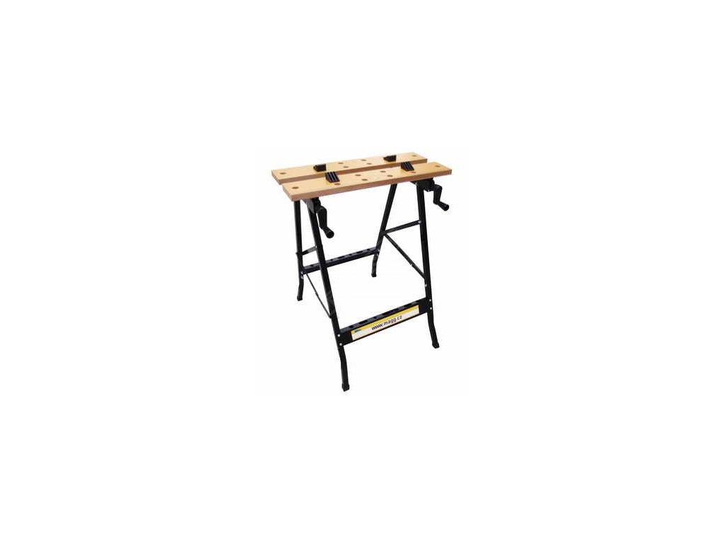 Pracovní stůl  skládací, šíře 560mm, hloubka 200-300mm nastavitelné MAGG JDT025