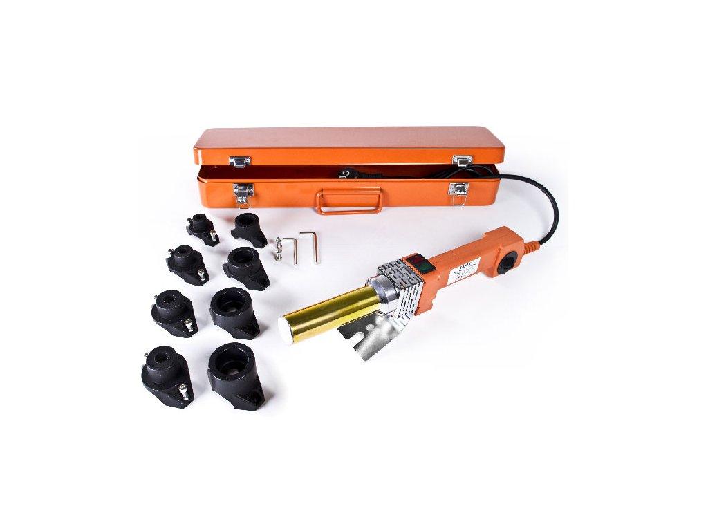 Polyfúzní svářečka 800/1000W kopyta 16,20,25,32mm TUSON POLY02  + praktický kovový kufřík