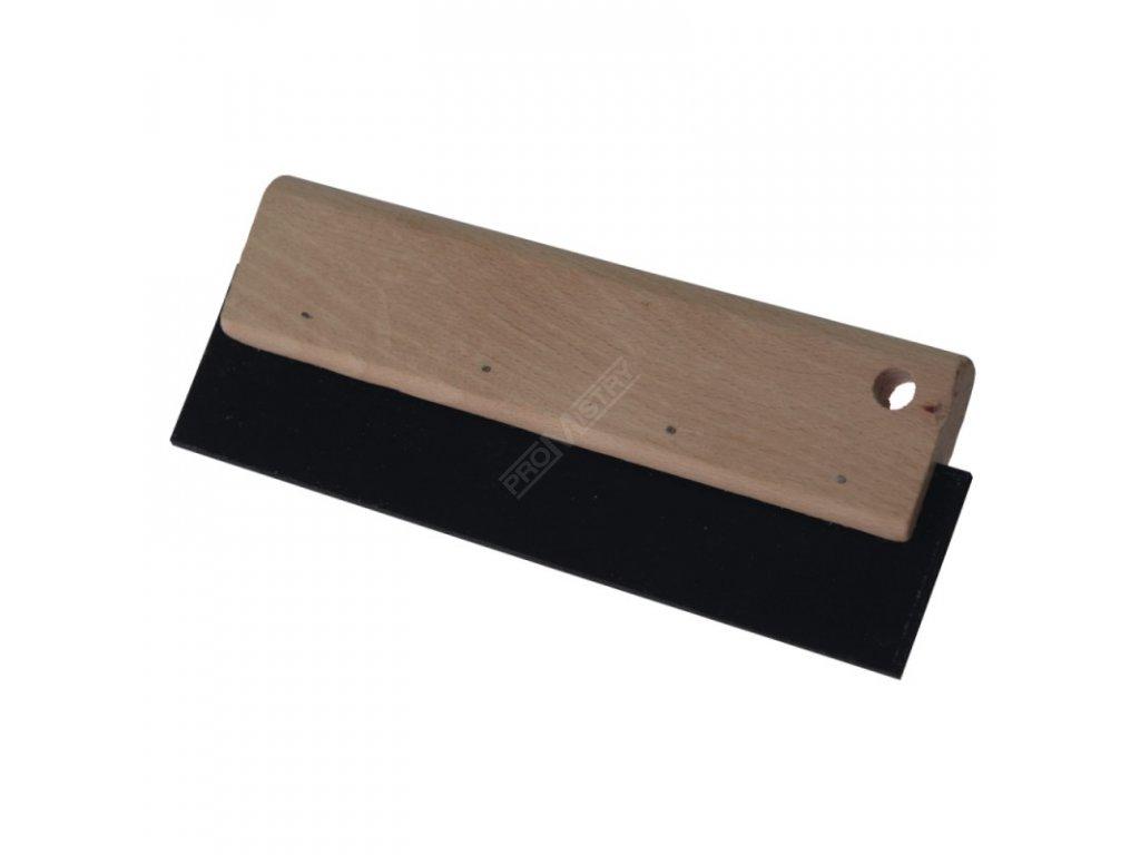 Spárovací guma 20 cm guma+dřevo DEDRA 1120-20