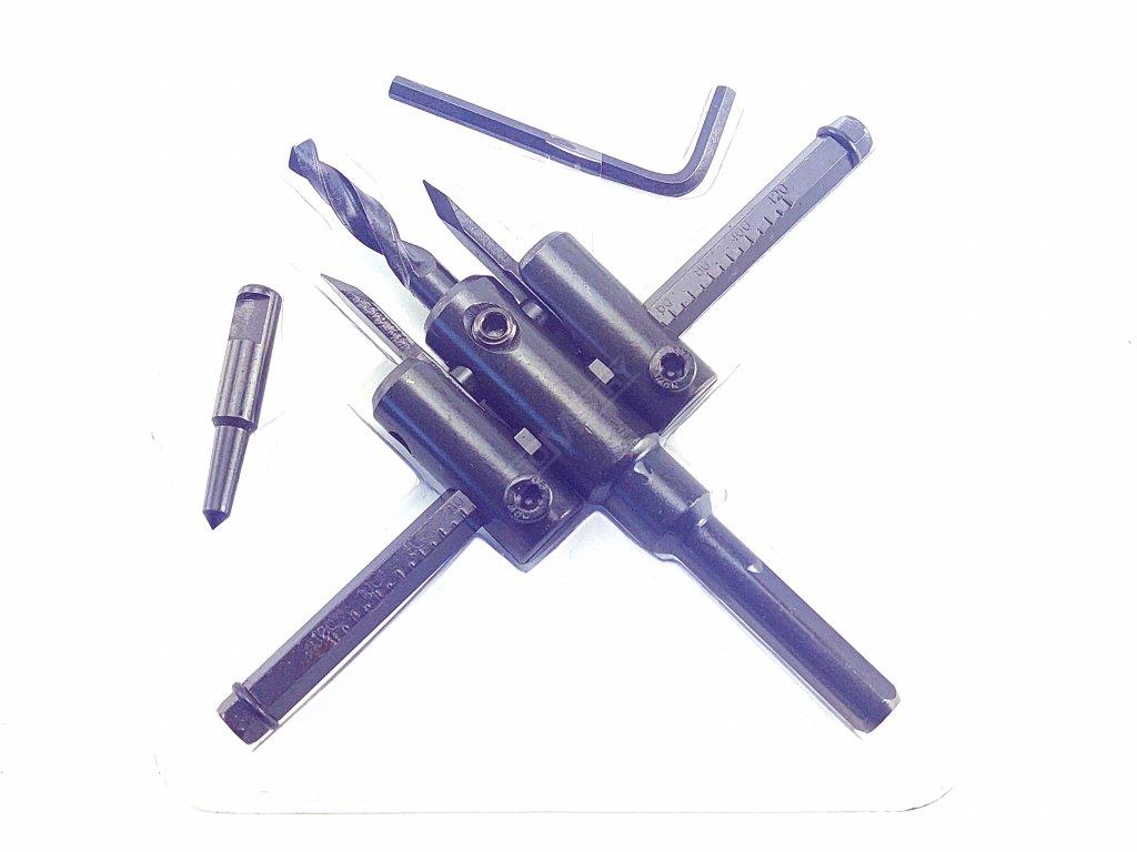 Nastavitelný vykružovací vrták do dřeva 30-120 mm