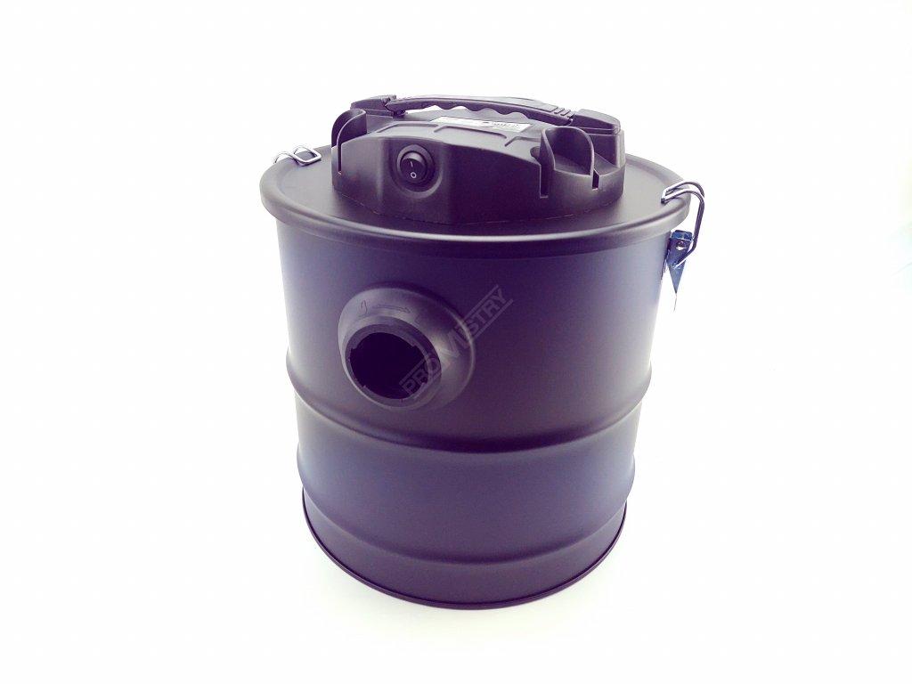Vysavač na popel a saze s motorem 1200W, nádoba 18l + HEPA filtr TUSON 130034