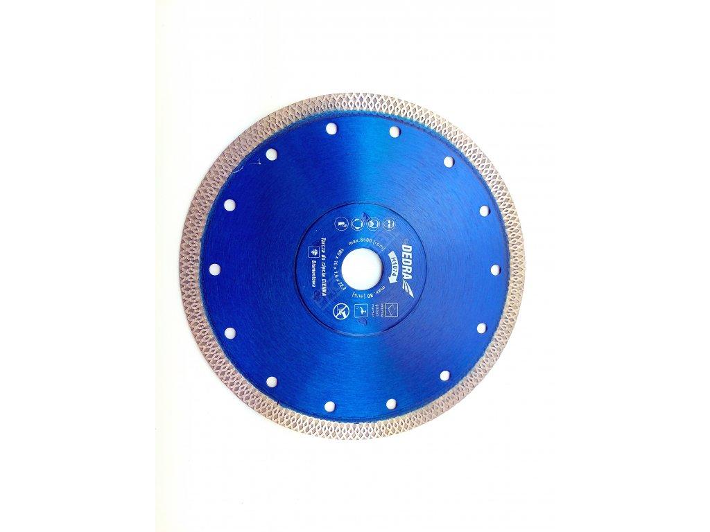 Extra tenký řezný diamantový kotouč na obklady 180x22,2mm