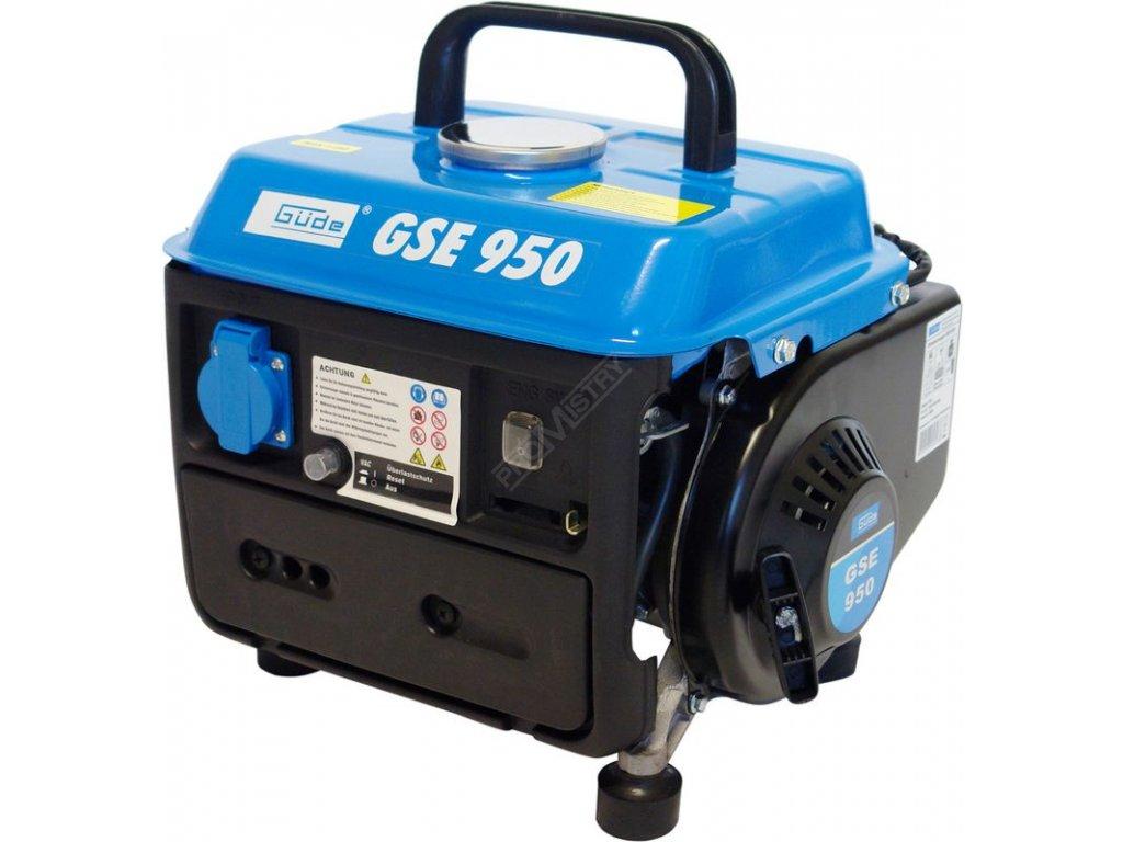 GÜDE - generátor elektrického proudu GSE 950