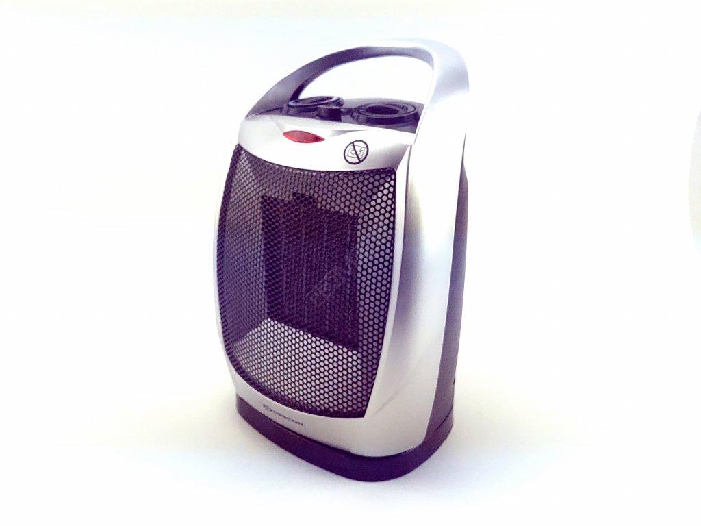 Elektrický přímotop s keramickým topným tělesem 1800 W  + termostat a keramické těleso