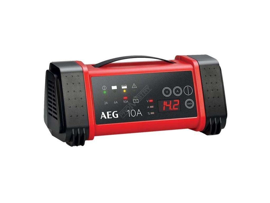 AEG - Nabíječka baterií s mikroprocesorem 10A, 12/24V, LT10    …