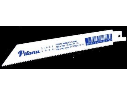 Šavlový pil.list BiCo, 150x19x1,3mm, 14TPI - 5ks PILANA Metal s.r.o. PILS1150BA14PT