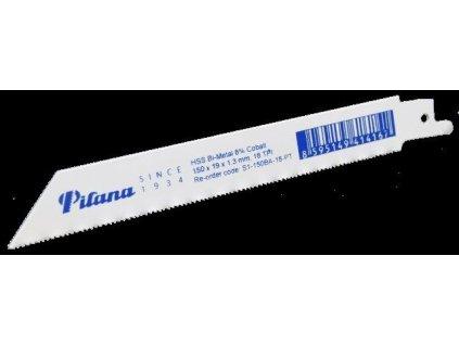 Šavlový pil.list BiCo, 150x19x1,3mm, 18TPI - 5ks PILANA Metal s.r.o. PILS1150BA18PT
