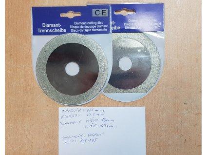 Diamantový brusný a řezný kotouč 115x22.2 mm do úhlové brusky MICRON DT115