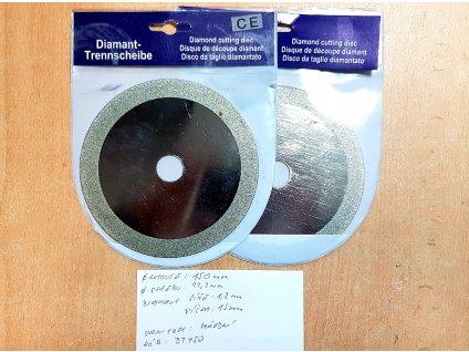 Diamantový brusný a řezný kotouč 150x22.2 mm do úhlové brusky MICRON DT150
