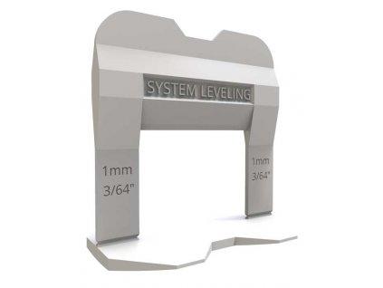 Spony 1mm (500ks) System Leveling D.O.O. SL1121